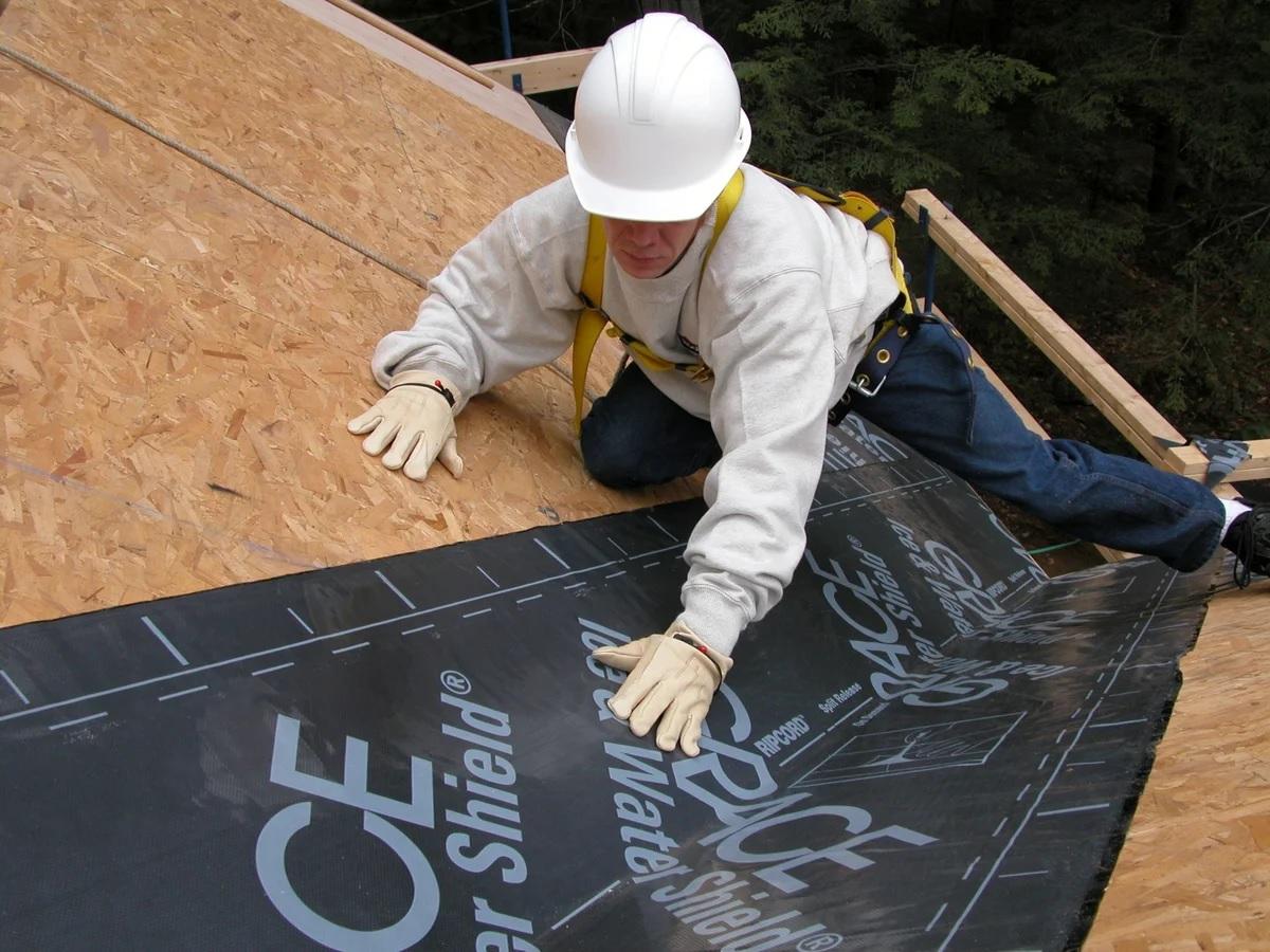 гидроизоляцию крыши