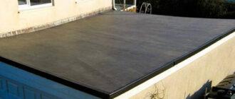односкатная крыша на гараже