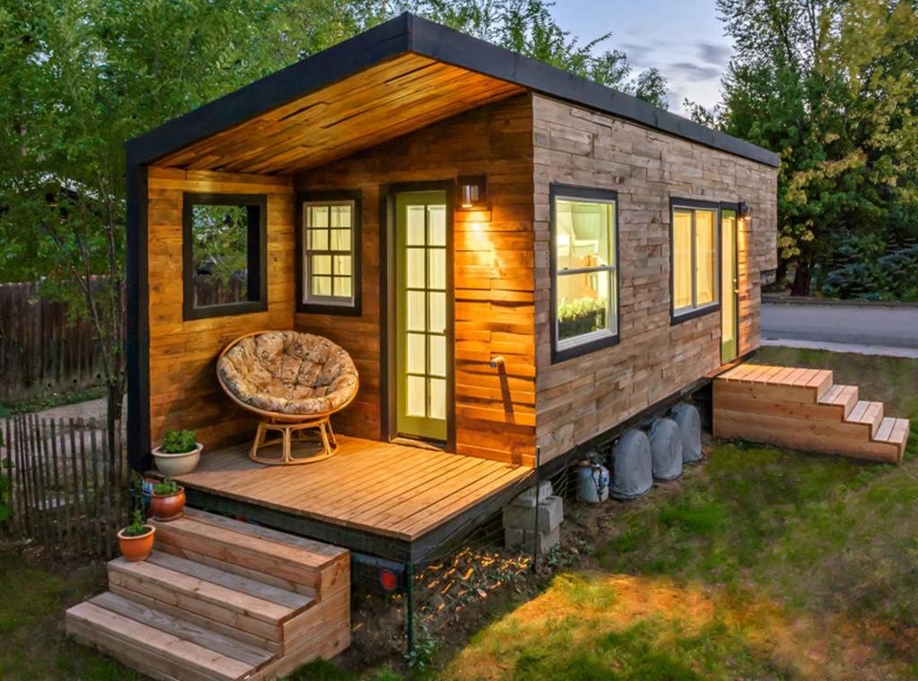 построить садовый домик