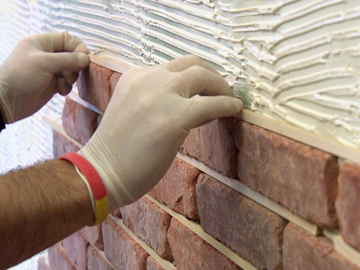 Как класть клинкерную плитку на стену