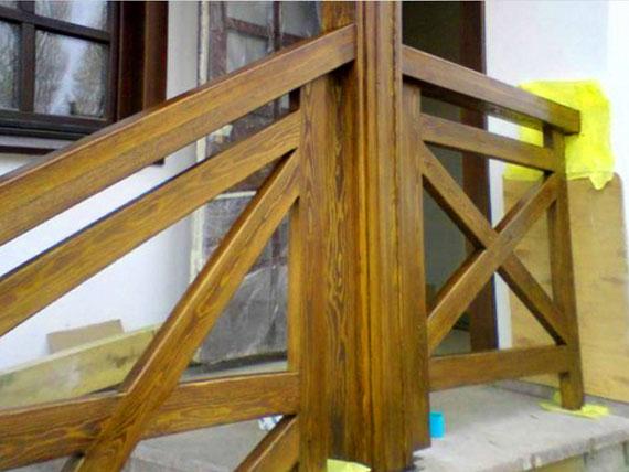 Как сделать перила для лестницы своими руками